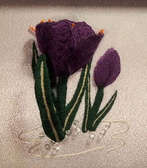 Crocus Embroidery